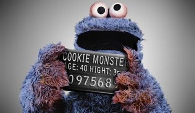 cookie-monster-arrested-mugshot